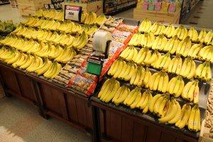 Display of Bananas
